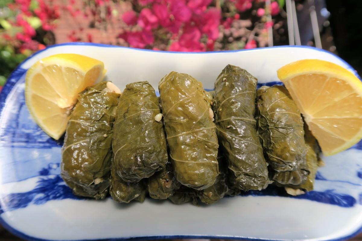 Hausgemachte griechische Dolmades[Vegan &GF]