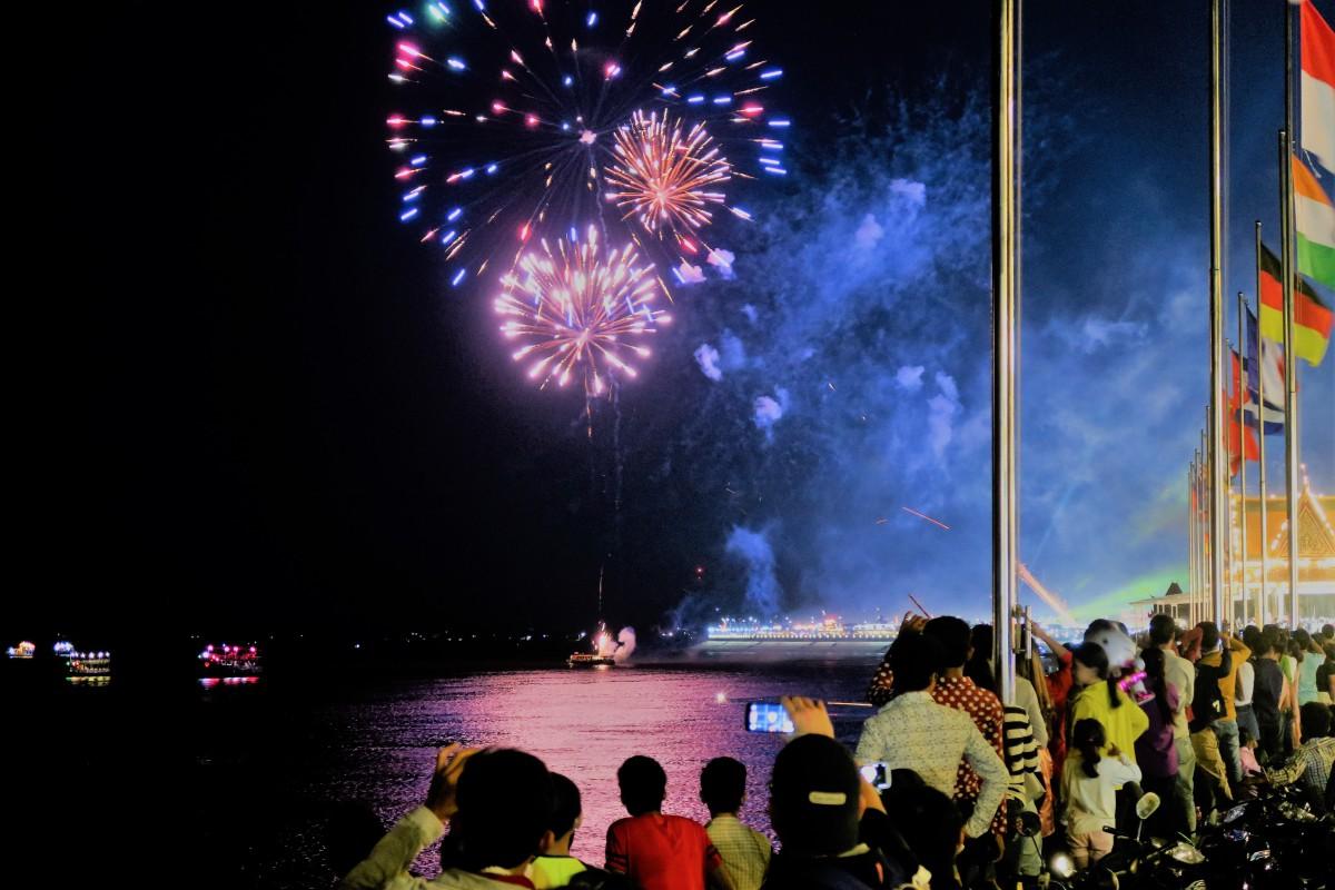 Silvester mal ganz anders! Feier in Phnom Penh, Kambodscha!
