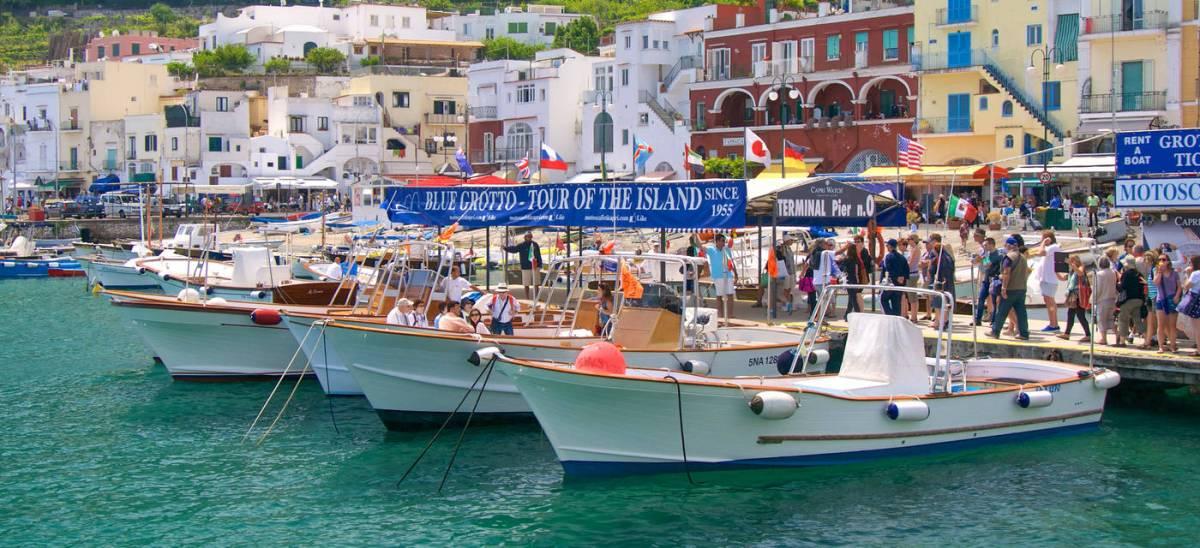 Eine Inselrundfahrt um Capri- einfach unvergesslich!