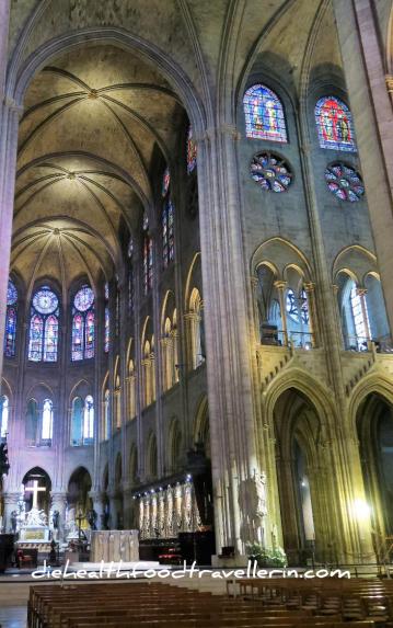 Notre Dame Chapel indoors windows 2