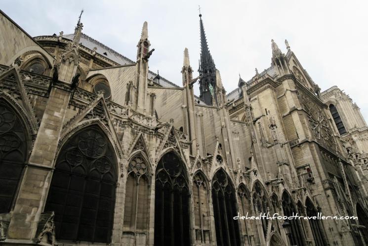 Notre Dame Hintere Aussicht
