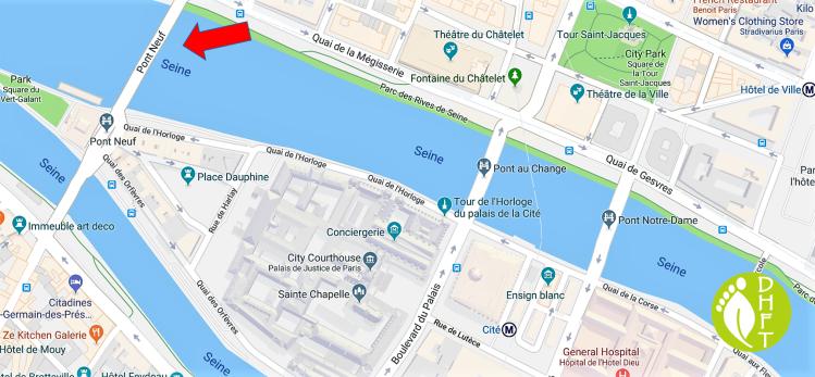 Paris Google Map Pont Neuf DEU