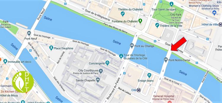 Paris Google Map Pont Notre Dame DEU